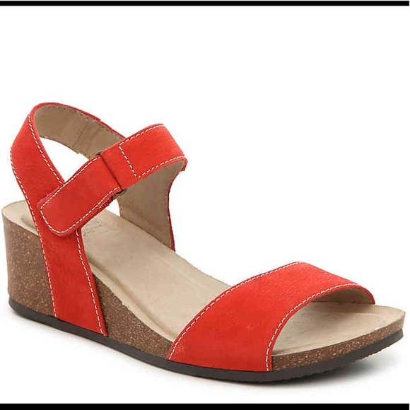 7c0226573dc2 Haines Cork Wedge Sandals Orange. M 5a36a89a84b5ce450300f75f. Other Shoes  you may like. Womens Sandals by Cliffs -White Mountain ...